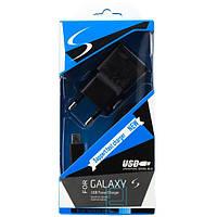 СЗУ 2in1 Samsung ETA-U90EWE 5V 2.4A micro USB black