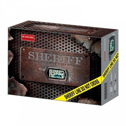 Cигнализация Sheriff ZX-1070 PRO без сирены, фото 2