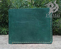 Чоловічий гаманець кошелек Weal2, мужской кожаный кошелек натуральна шкіра, ручна робота