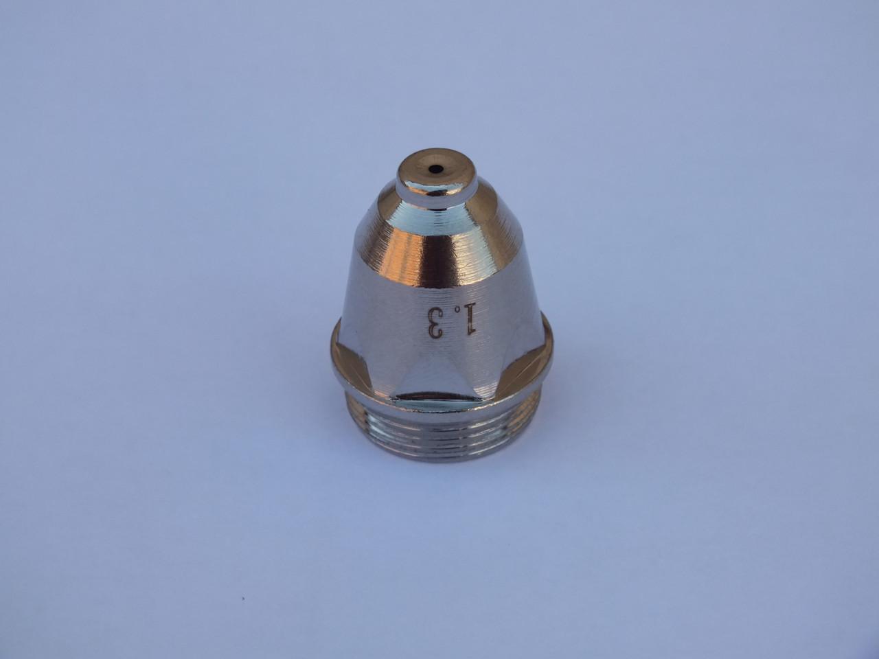 Сопло плазменное диаметр 1.1 ; 1.3 ; 1.5 ;1.7 для плазматрона Р-80
