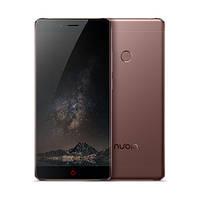 Смартфон ZTE Nubia Z11 6/128 gb Brown Qualcomm MSM8996 Snapdragon 820 3000 мАч