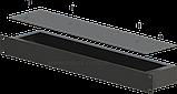 Корпус металевий Rack 1U, модель MB-1100S (Ш483(432) Г102 В44) чорний, RAL9005(Black textured), фото 3