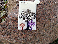 Стильное зеркальце. Фиолетовое дерево