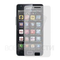 Закаленное защитное стекло для моб. телефона Samsung I9100 Galaxy S2, 0,26 мм 9H, (без упаковки, без салфеток)