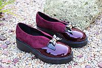 Шикарные туфельки с бантиком