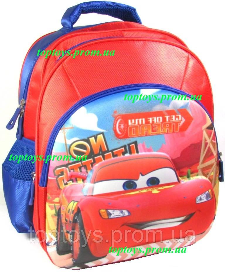 eda18cb3745d Рюкзак с 3D рисунком для Мальчика школьный Тачки, Маккуин, Маквин. Объёмное  изображение