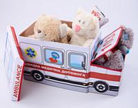 Дитячий пуф швидка медична допомога