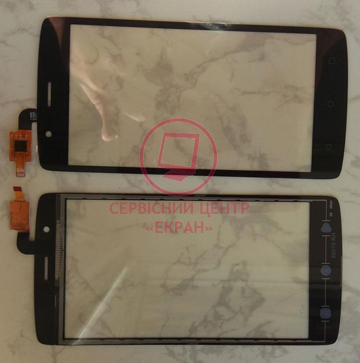 Fly FS506 Cirrus 3 сенсорний екран, тачскрін чорний