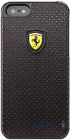Чехол CG Mobile Ferrari Hard Back Challenge Perforated Collection Apple iPhone 5, Apple iPhone 5S, Apple iPhone SE Black (FECHFPHCP5)