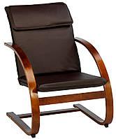 Кресло TUNE иск.кожа кофе