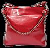 Женская сумка из натуральной кожи красного цвета BBN-085366