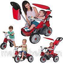 Уникальный трёхколёсный велосипед Feber 4в1 Baby Trike Easy Evolution 09473