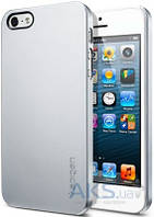 Чехол SGP Case Ultra Thin Air Series Satin Apple iPhone 5, Apple iPhone 5S, Apple iPhone 5SE Silver (SGP09538)