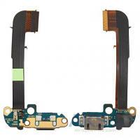 Шлейф для HTC One M7 801e / One M7 801n с разъемом зарядки и микрофоном Original