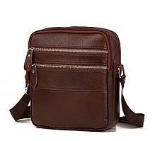Мужская кожаная сумка Tiding Bag M38-3923C