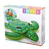 Дитячий надувний пліт Intex Черепаха, фото 3