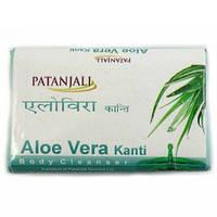 Мыло аюрведическое с алоэ вера Divya Patanjali Kanti Aloe Vera Soap 75г