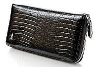 Женский кожаный кошелек клатч на молнии ST New премиум, фото 1