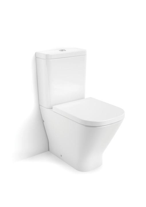 Компакт ROCA GAP  в комплекте: унитаз, бачок 3/4,5, сиденье slow-closing
