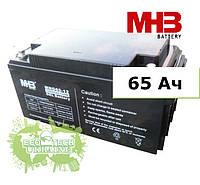 Аккумулятор MHB гелевый 65Ач 12В, GEL, модель - MNG65-12 (для автономных солнечных электростанций)