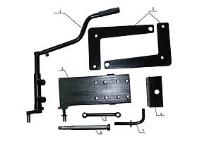 Комплект по переоборудованию мотоблока КИТ набор №3(базовый+задний подьемный механизм+комплект для фрезы, 4 б), фото 2