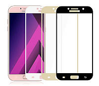 Защитное стекло Samsung A720 Galaxy A7 (2017) (full Screen) (2.5D)
