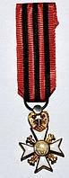 Бельгия крест Гражданской Чести фрачник А159