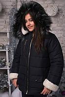 Зимняя курточка АЛЯСКА, подросток. Чёрный, 3 цвета.