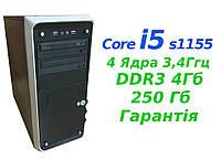Системный Блок i5 Intel, 4 ядра до 3,4 - s1155