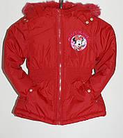 Демисезонная курточка для девочки 6 лет(113-119 см)