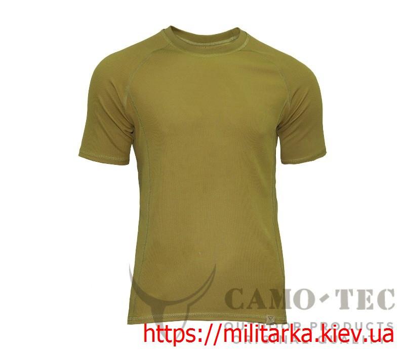 Футболка военная CoolPass Thorax Camo-tec койот
