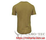 Футболка военная CoolPass Thorax Camo-tec койот, фото 2