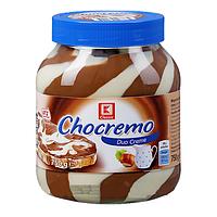 Шоколадно молочная паста Chocremo Duo Cream 750 г