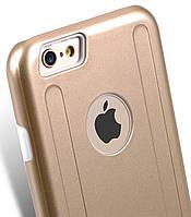 Чехол бампер Melkco Metallic Kubalt iPhone 6 6s накладка панель золотистая