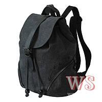 Рюкзак Winner Stile J-213 темно-серый школьный подростковый для девочек 32см х 39см х 14см