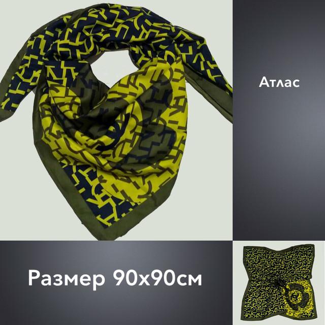 Платок U Шанель атлас 90х90