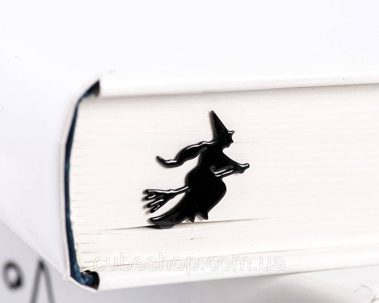 Закладка для книг Ведьма на метле
