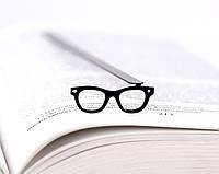 Закладка для книг Очки Хипстера