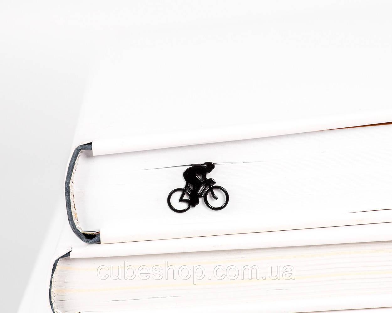 Закладка для книг Велогонщик