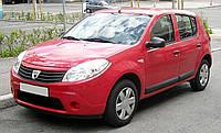 Кузовное правое стекло (переднее дверное) Dacia /Renault Sandero/Duster (2008-2012)