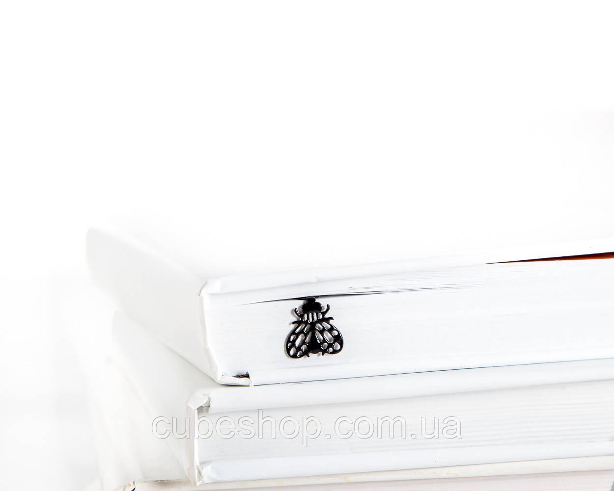 Закладка для книг Муха (чёрный)