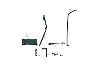 Комплект по переоборудованию мотоблока КИТ набор №4(задний и передний подьемный механизм+комплект фрезы, 5 б), фото 3