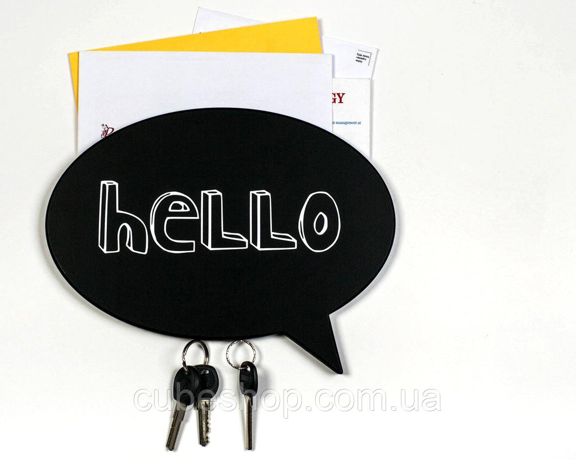 Магнитная ключница Hello