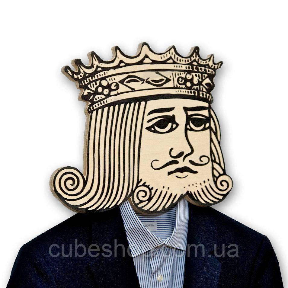 Вешалка-маска Пиковый Король