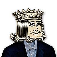 Вешалка-маска Пиковый Король, фото 1