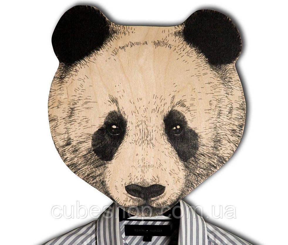 Вешалка-маска Панда