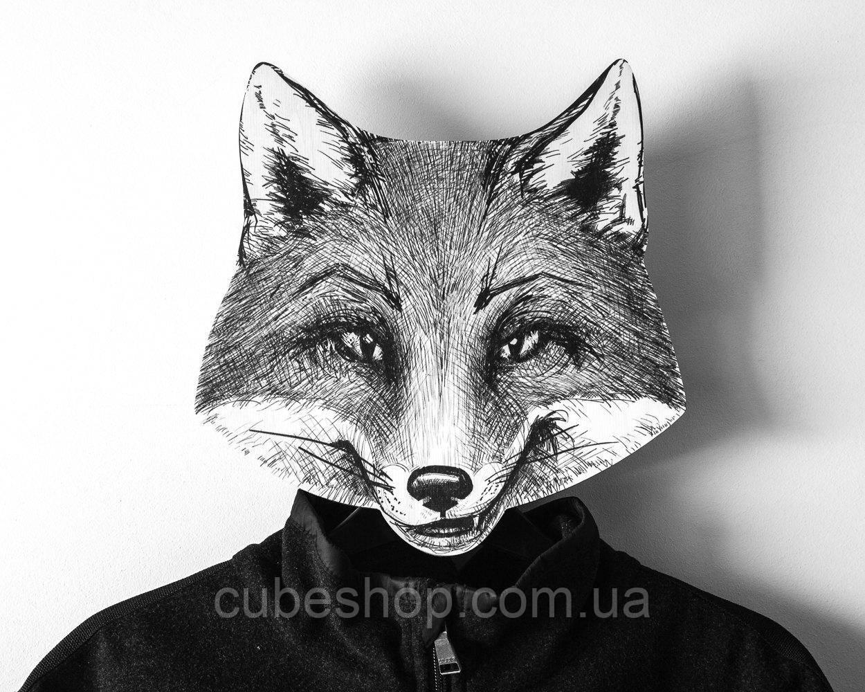 Вешалка-маска Лиса