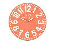 Настенные часы Лондон (коралловые), фото 1