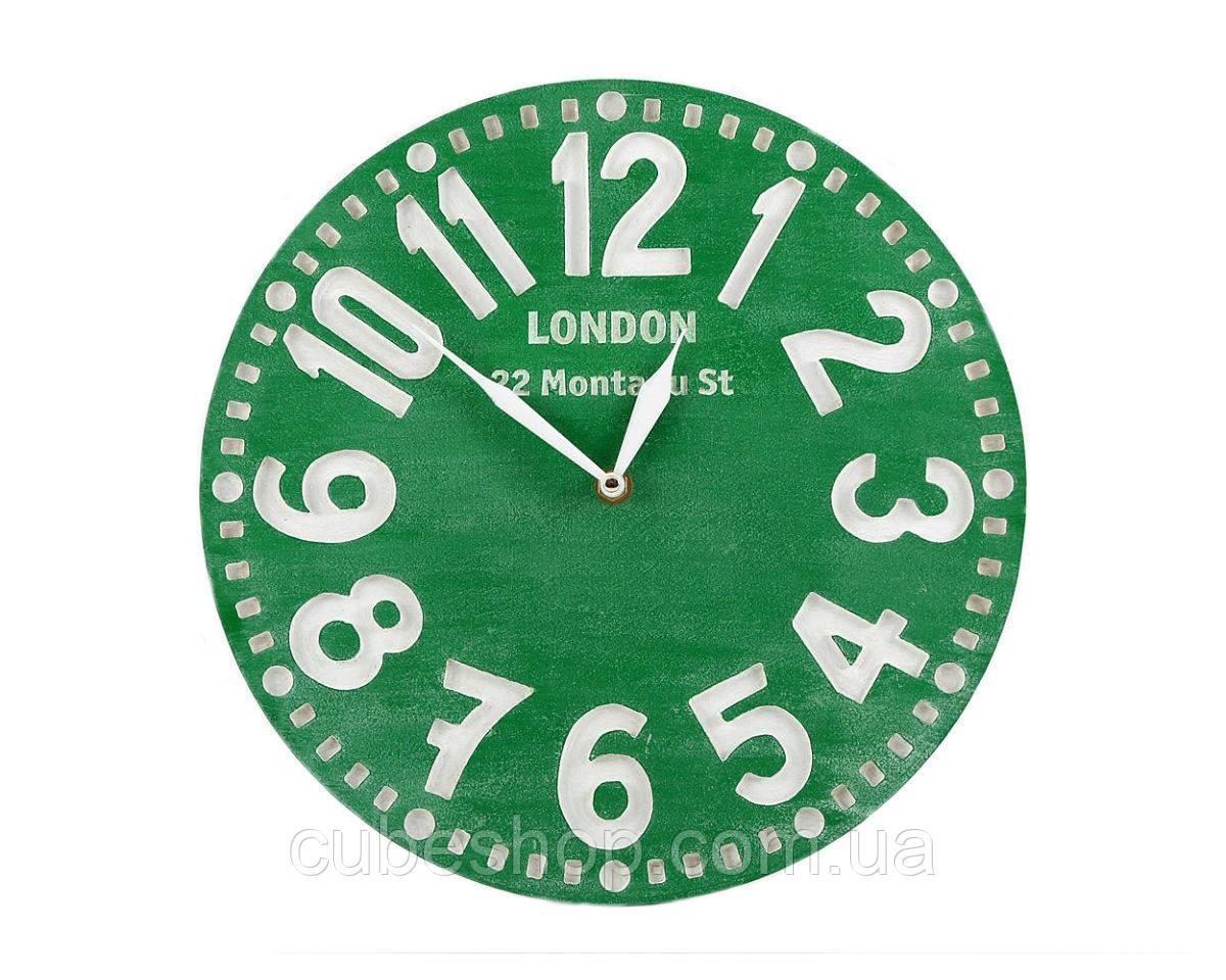 Часы Лондон (зелёные)