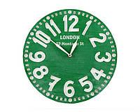 Часы Лондон (зелёные), фото 1